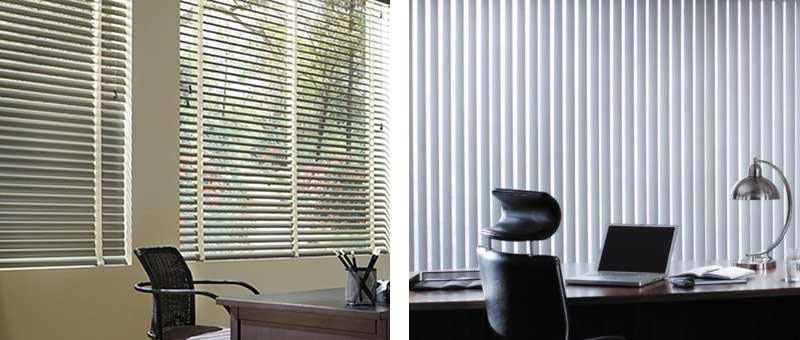 The Difference Between Vertical and Horizontal Window Blinds .