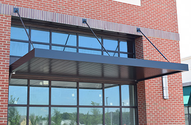 Metal Awnings, Metal Canopies, Outdoor Awnings and Store Awnin