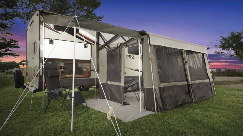 Outdoor Solutions for Awnings: RV Awning Accessories | Trailer Li