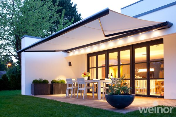 Retractable Patio Awnings for Domestic Use | Outdoor awnings .