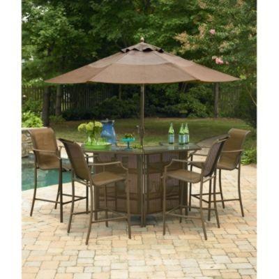 Saratoga 5-Piece Bar Set*- Garden Oasis-Outdoor Living-Patio .