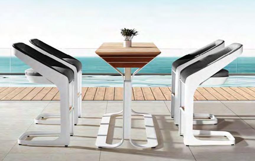 Outdoor Bar Set | Higold Pininfarina | OROA Modern Outdoor Furnitu