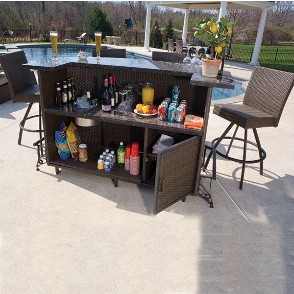 Outdoor Bar Set