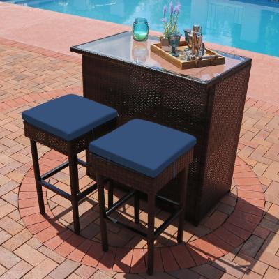 Sunnydaze Decor - Patio Bar Sets - Outdoor Bar Furniture - The .