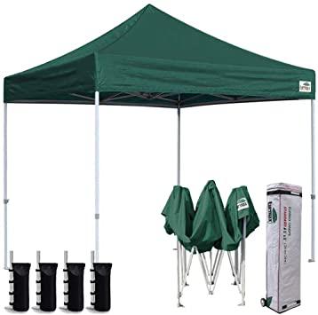 Amazon.com : Eurmax 8x8 Feet Ez Pop up Canopy, Outdoor Canopies .