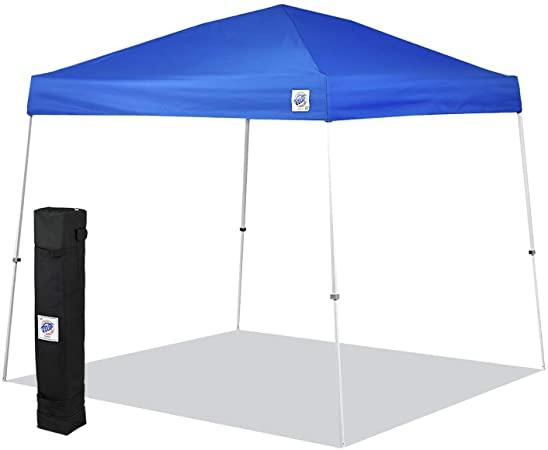 Amazon.com : E-Z UP SR9104BL Sierra II 10 by 10-Feet Canopy, Blue .