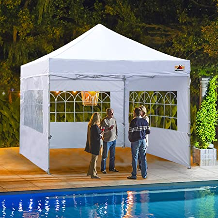 Amazon.com : ABCCANOPY Outdoor Canopy Tent 10x10 Gazebo Pop Up .