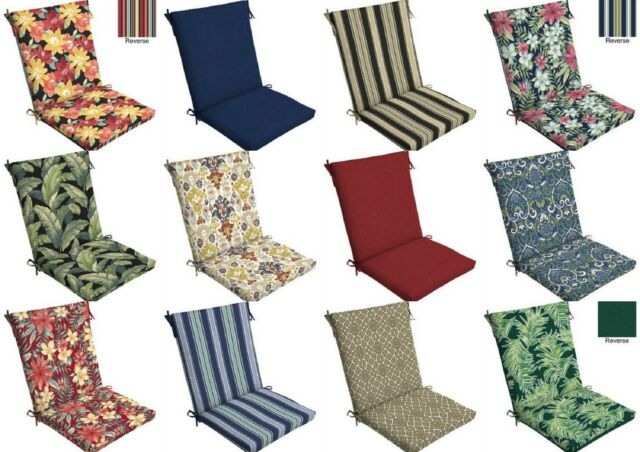 Cabana Stripe Outdoor 2-pk. Chair Pads for sale online | eB