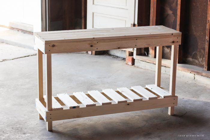 How to Build an Outdoor Console Table - Love Grows Wild | Outdoor .