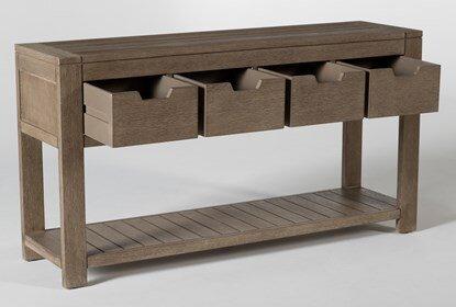 Avignon Outdoor Console Table | Living Spac