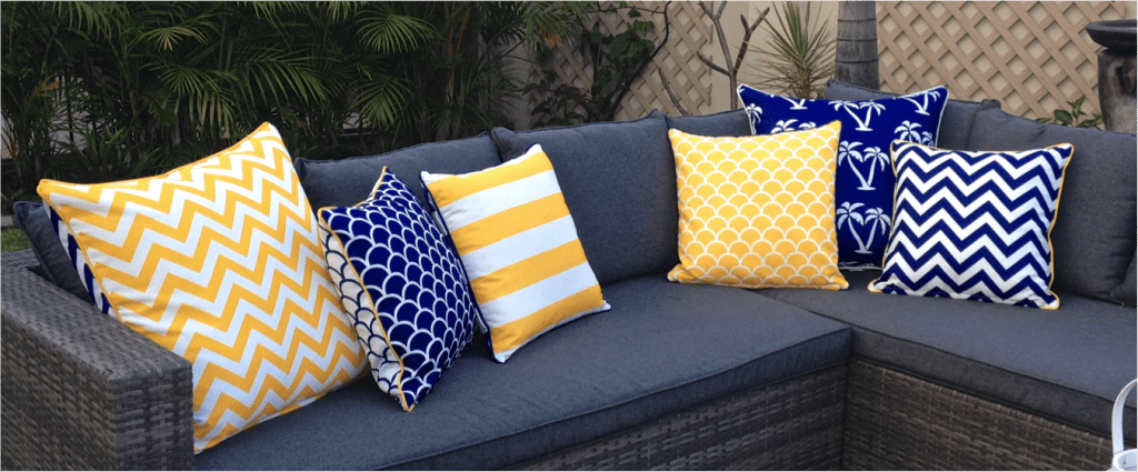 Outdoor cushions don't have to be high-maintenance: A welcome .