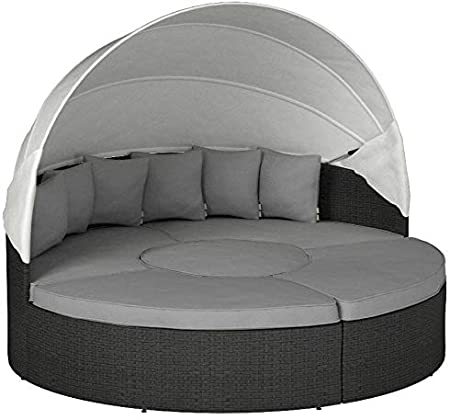 Amazon.com : Modway Sojourn Outdoor Patio Sunbrella Sectional .