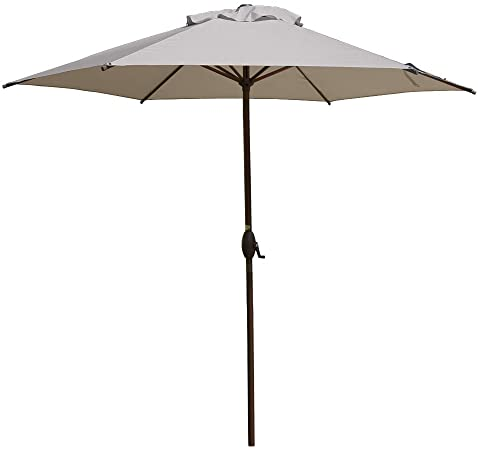 Amazon.com : Abba Patio 9ft Patio Umbrella Outdoor Umbrella Patio .