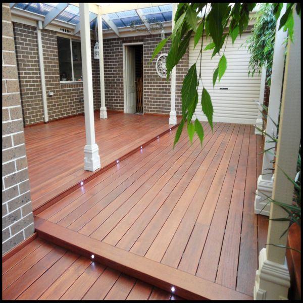 China High Quality Merbau Outdoor Decking Wood Board - China .
