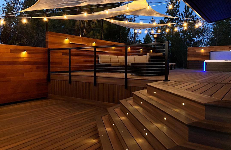 Outdoor LED Deck Lighting - Inlite Lighting for Outdoor Decks and .