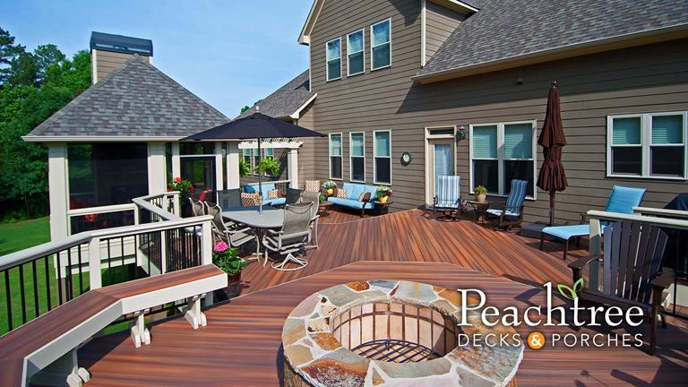 Atlanta decks, porches and outdoor living spaces | Peachtree Decks .