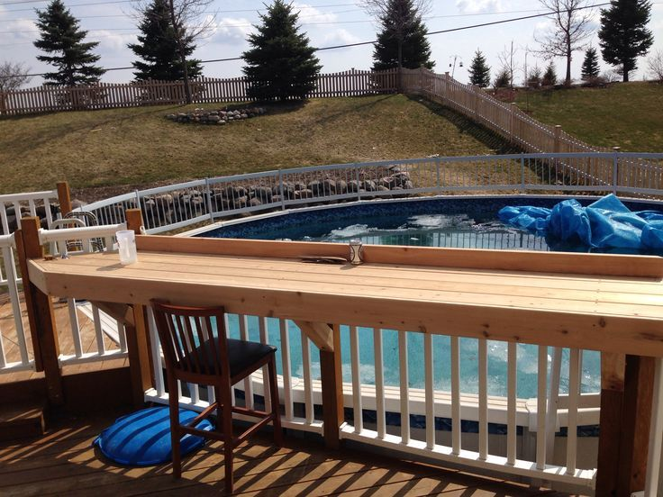 Outdoor Bars Built On Deck | Building a deck, Balcony bar, Diy de