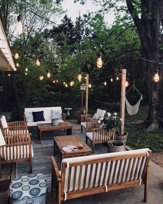 Unique Outdoor Decorations For Summer Parti