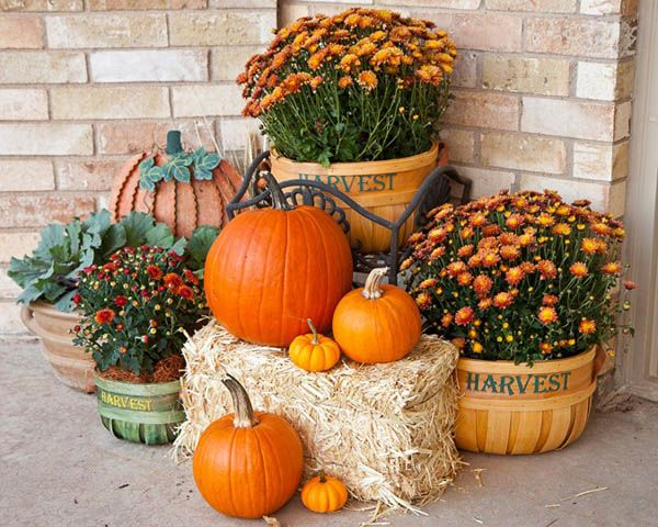 30 Eye-Catching Outdoor Thanksgiving Decorations Ideas – Easyday .