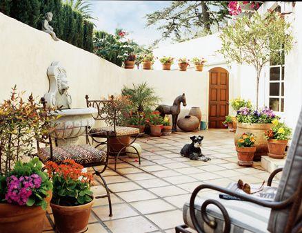 21 Amazing Mediterranean Outdoor Design | Mediterranean garden .