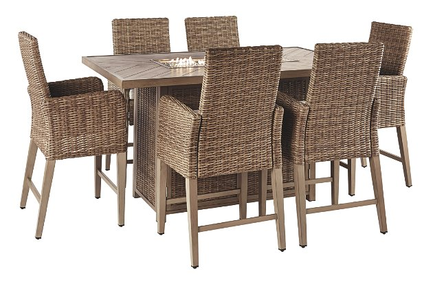 Beachcroft Outdoor Dining Table and 6 Chairs | Ashley Furniture .