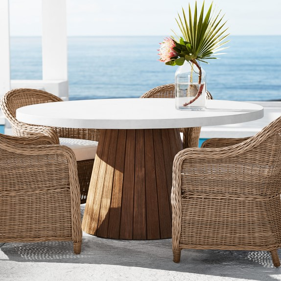 Balboa Outdoor Round Dining Table | Williams Sono