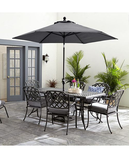 Furniture Vintage II Outdoor Cushion Chair Dining Collection .
