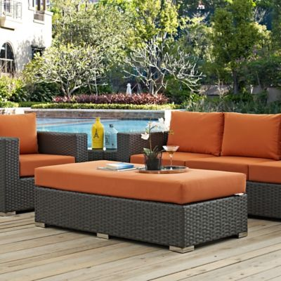 Modway Sojourn Outdoor Furniture Collection in Sunbrella® Canvas .