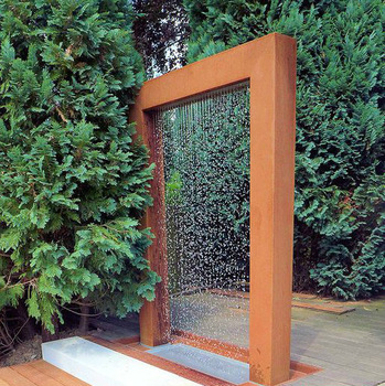 New Garden Decor Large Outdoor Decor Water Fountain Drawing - Buy .