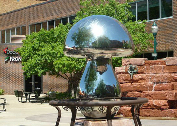 Mirror Polished Mushroom Famous Modern Art Sculptures Outdoor .