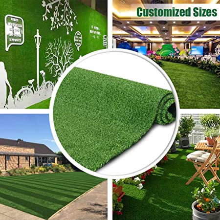 Amazon.com: Synthetic Artificial Grass Turf 3FTX43FT Indoor .