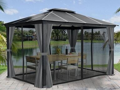 Outdoor Furniture Gazebos - Fortunoff Backyard Store - Houston,