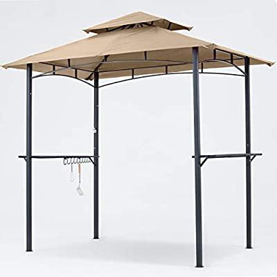 Amazon.com : MASTERCANOPY Grill Gazebo 8 x 5 Double Tiered Outdoor .