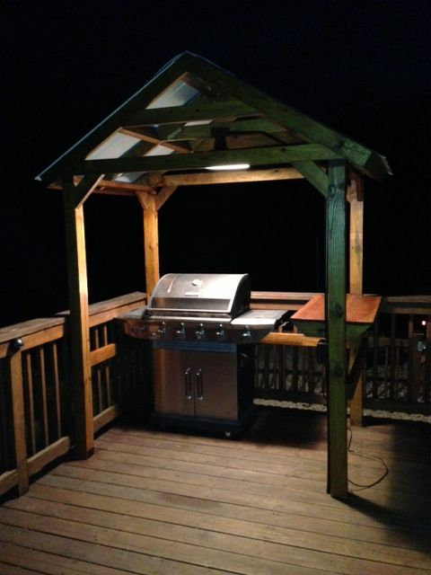 Grill Gazebo | Grill gazebo, Outdoor kitchen design, Bbq gaze