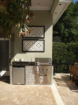 Palm Beach Home | Small outdoor kitchens, Outdoor kitchen design .
