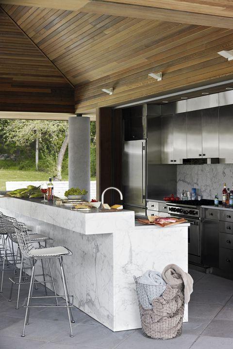 15 Outdoor Kitchen Design Ideas and Pictures - Al Fresco Kitchen .