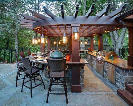 Outdoor Kitchen Design Ideas — Rick's House of Fi