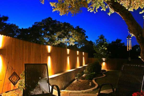 How outdoor lighting can make your yard an inviting living space .