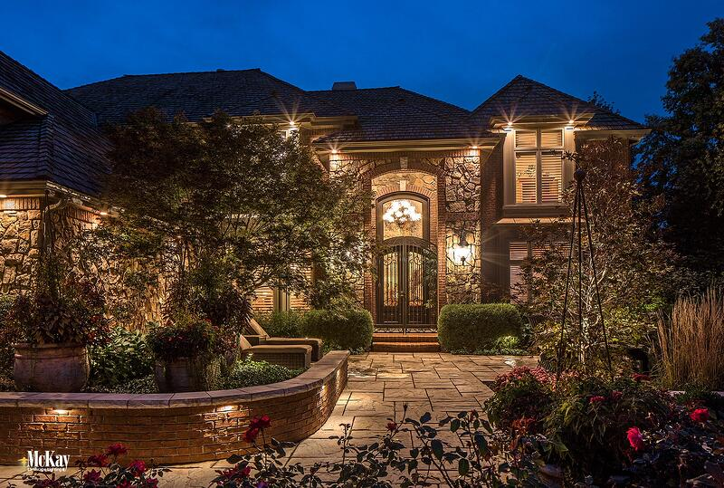 Home Front Entrance Path Lighting Ide