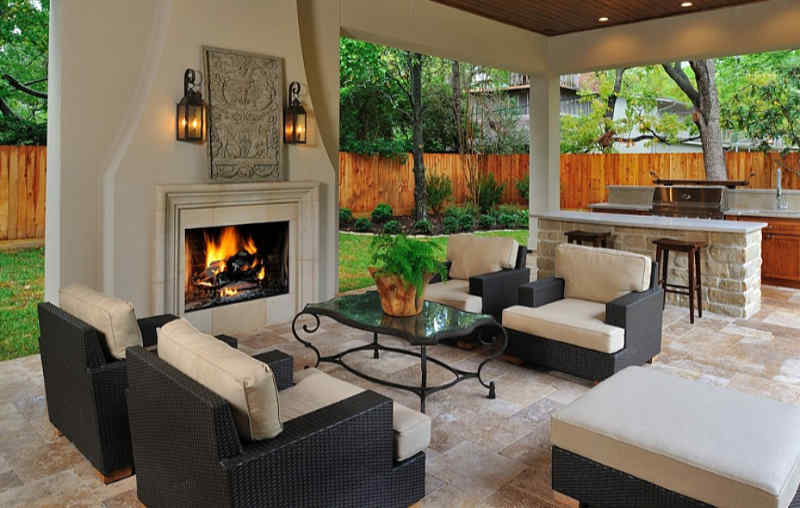 Outdoor Living Space Ideas - Lake of the Ozarks - Heartland .