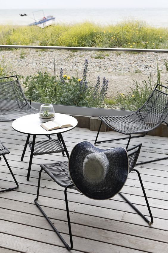 Outdoor chairs - Elba Lounge chair (for in- and outdoor use .