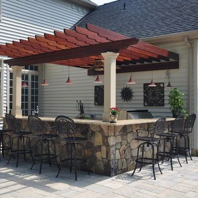 Outdoor Bar Ideas - Time to Take the Party to the Patio | Patio .