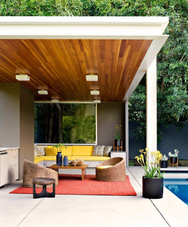 21 Stunning Midcentury Patio Designs For Outdoor Spaces | Modern .
