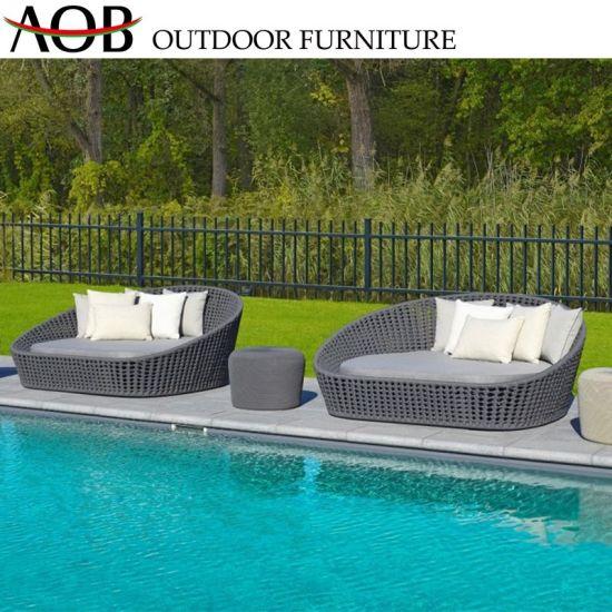 China Outdoor Garden Pool Furniture Rooftop Balcony Rattan Wicker .