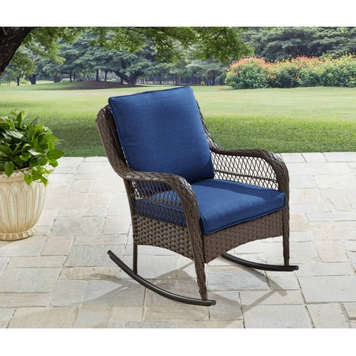 Better Homes & Gardens Colebrook Outdoor Rocking Chair - Walmart .