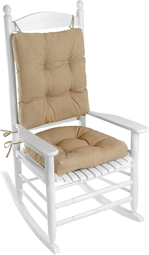 Amazon.com: Klear Vu Indoor/Outdoor Overstuffed Rocking Chair Pad .