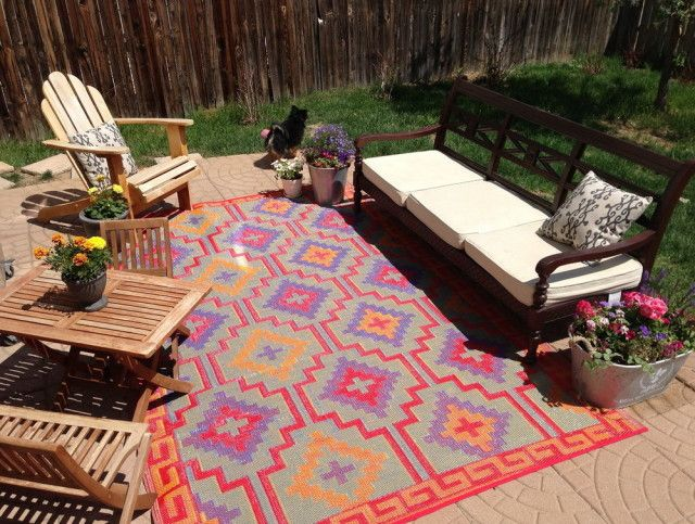 Outdoor Rugs Made From Recycled Plastic Bottles | Outdoor rugs .