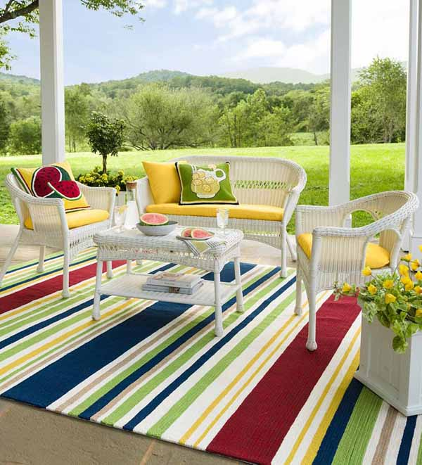 7 Best Outdoor Rugs for Your Porches, Patios & Outdoor Rooms in 20