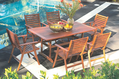Bentley 7 Piece Outdoor Setting. Harvey Norman. $799 | Outdoor .