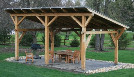 pavilion8 - Livinator | Outdoor shelters, Pergola, Backya